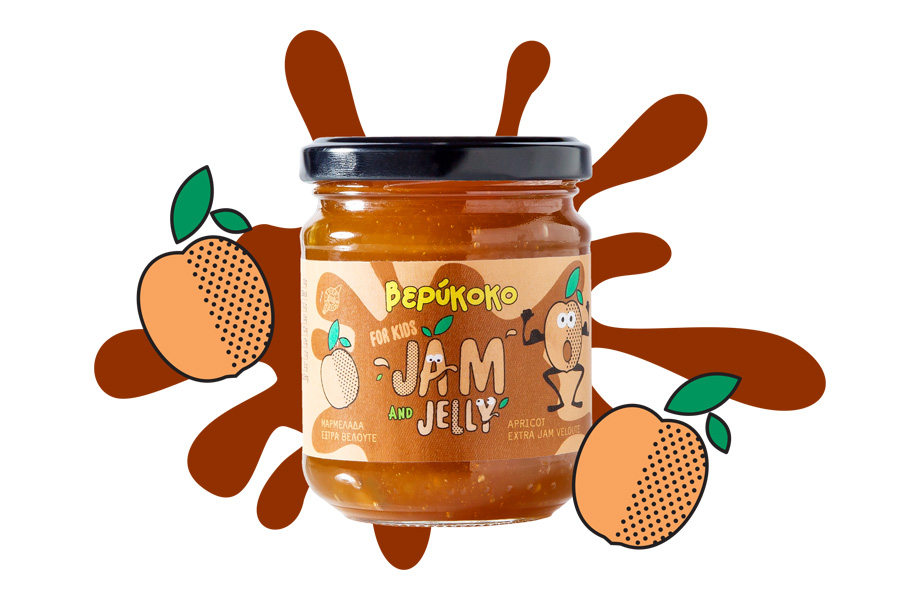 Apricot Extra Jam for Kids