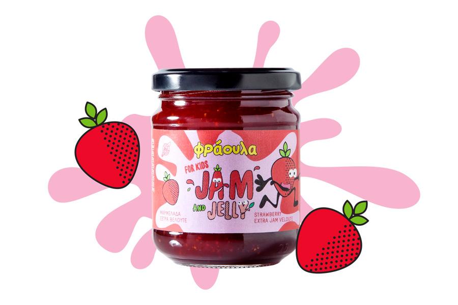 Strawberry Extra Jam for Kids