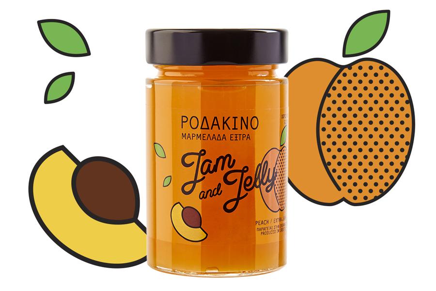 Peach Extra Jam