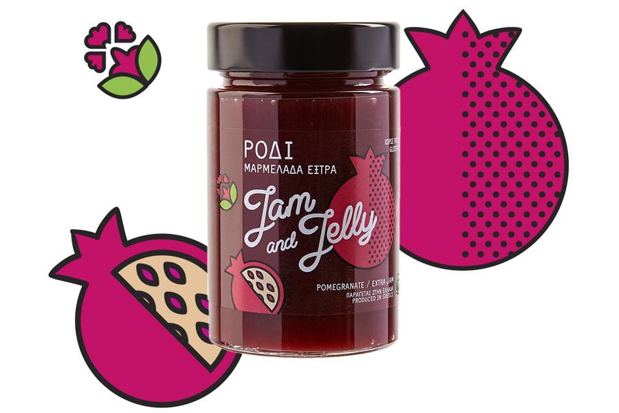 Pomegranate Extra Jam