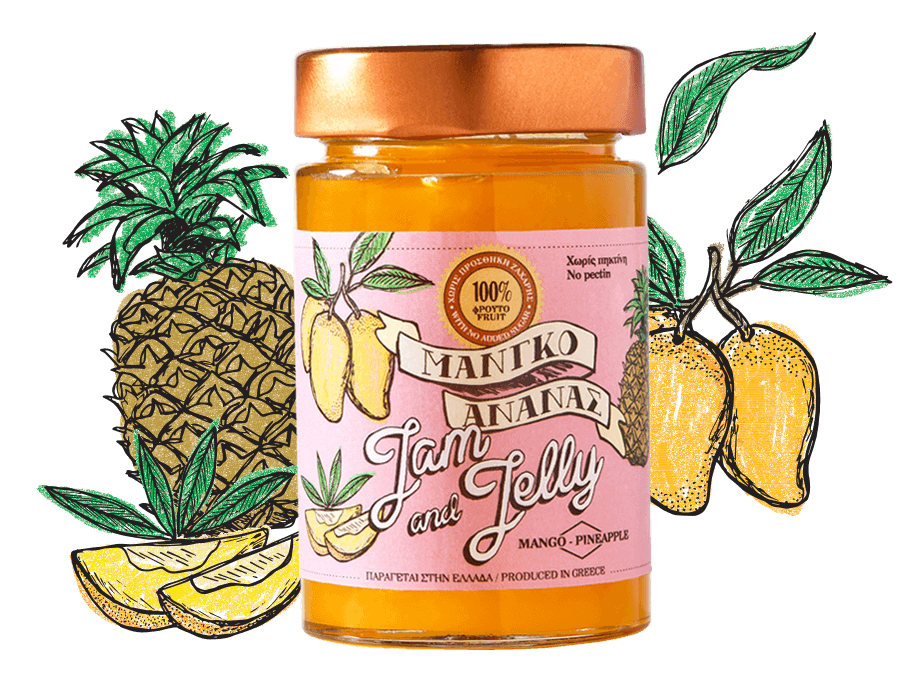 Mango & Pineapple Spread