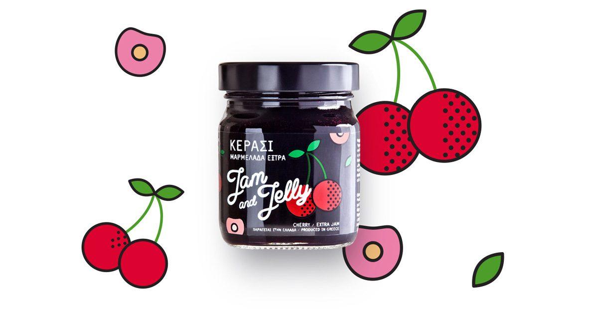 Jam and Jelly - Μαρμελάδα Κεράσι - Cherry Jam