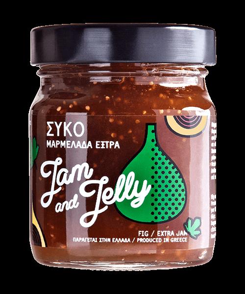 Jam and Jelly - Μαρμελάδα Σύκο - Fig Jam