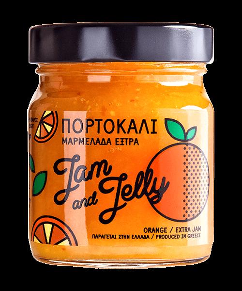 Jam and Jelly - Μαρμελάδα Πορτοκάλι - Orange Jam