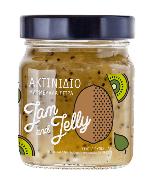 Jam and Jelly - Μαρμελάδα Ακτινίδιο - Kiwi Jam
