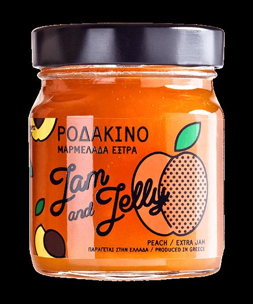 Jam and Jelly - Μαρμελάδα Ροδάκικο - Peach Jam