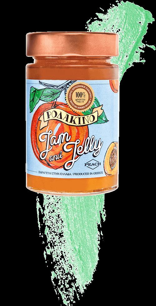 Jam and Jelly - Άλειμμα Ροδάκινο - Peach Spread